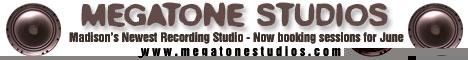 Megatone Studios in Madison, Wisconsin